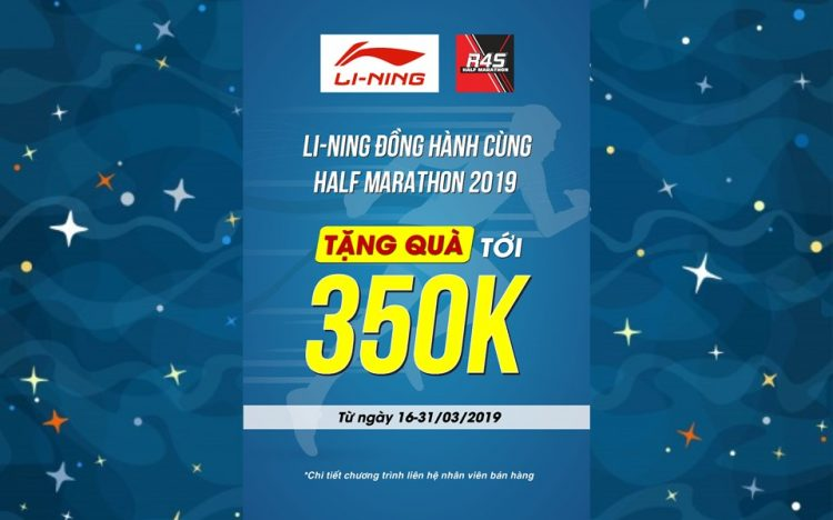 LI-NING – FREE GIFTS UP TO VND350.000