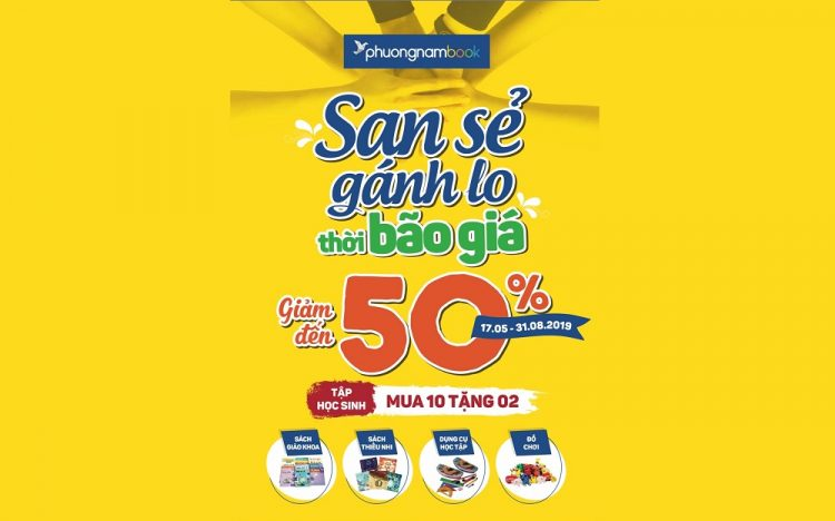 PHUONG NAM BOOK CITY – SALES UP TO 50%