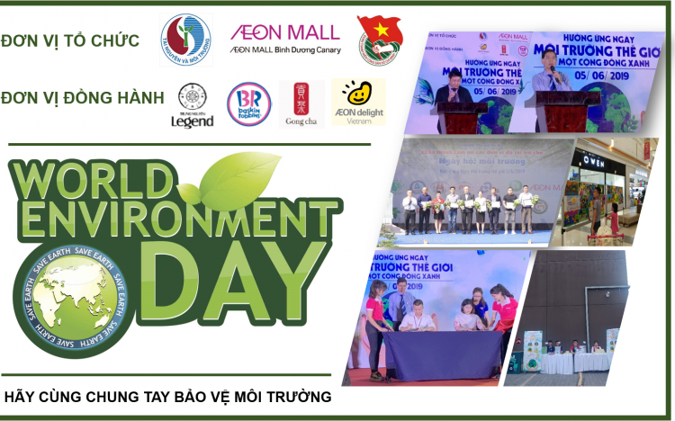 AEON MALL Bình Dương Canary gives a hand to protect the environment