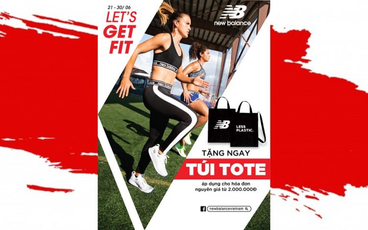 NEW BALANCE – GET TOTE BAG FOR BILL FROM 2 MILLION