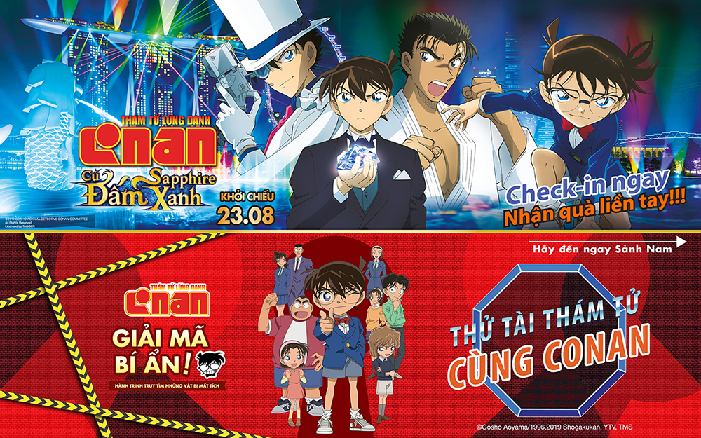 NEW ADVENTURE WITH DETECTIVE CONAN - AEONMALL Bình Dương Canary