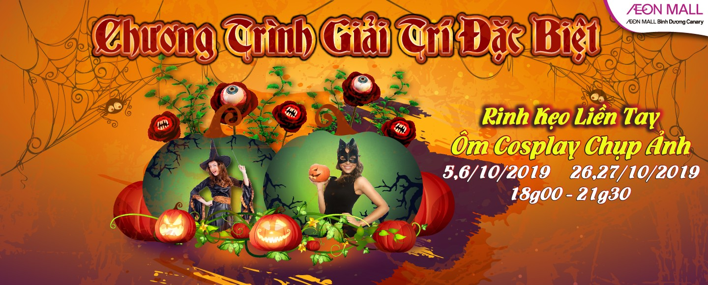 TRICK OR TREAT AT AEON MALL BINH DUONG CANARY