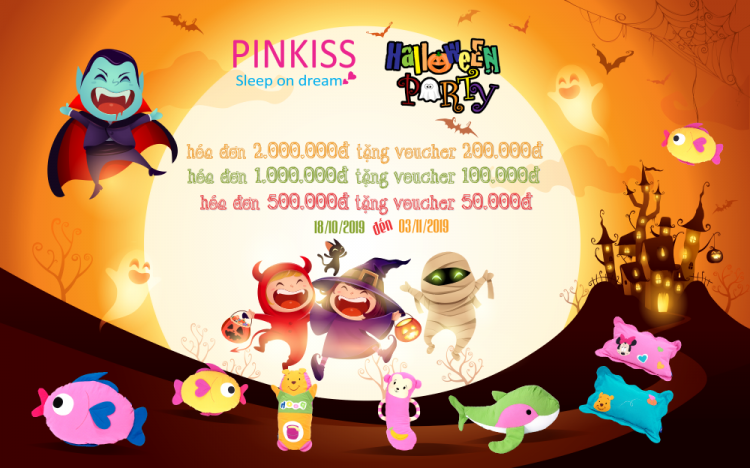 PINKISS – HAPPY HALLOWEEN WITH SPECIAL OFFER