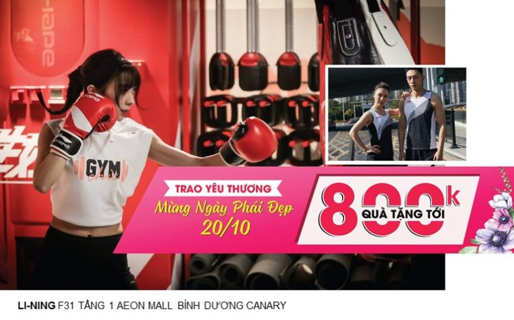 LI-NING – SPECIAL OFFER UP TO 800.000Đ