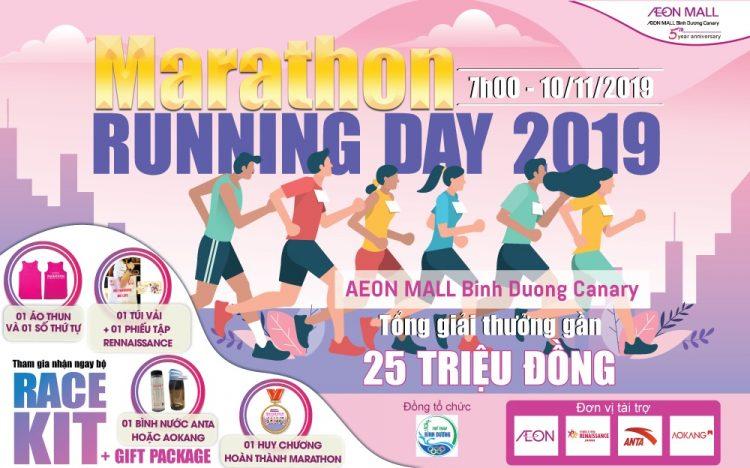 MARATHON – 2019 RUNNING DAY WITH AEON MALL BINH DUONG CANARY