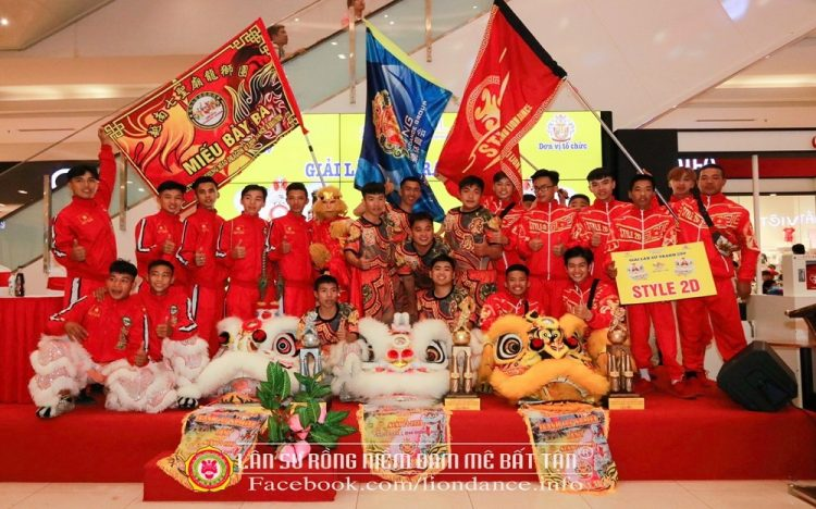 """2020 LION DANCING CUP COMPETITION – """"MAI HOA THUNG"""" CUP"""