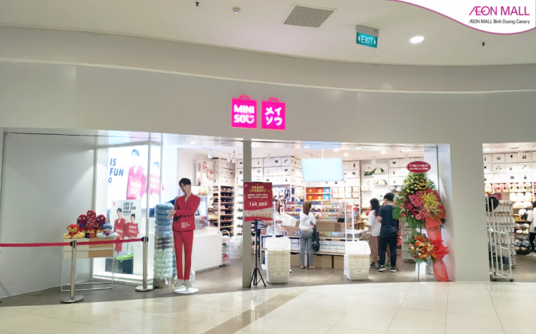 GRAND OPENING MINISO AT AEON MALL BINH DUONG CANARY
