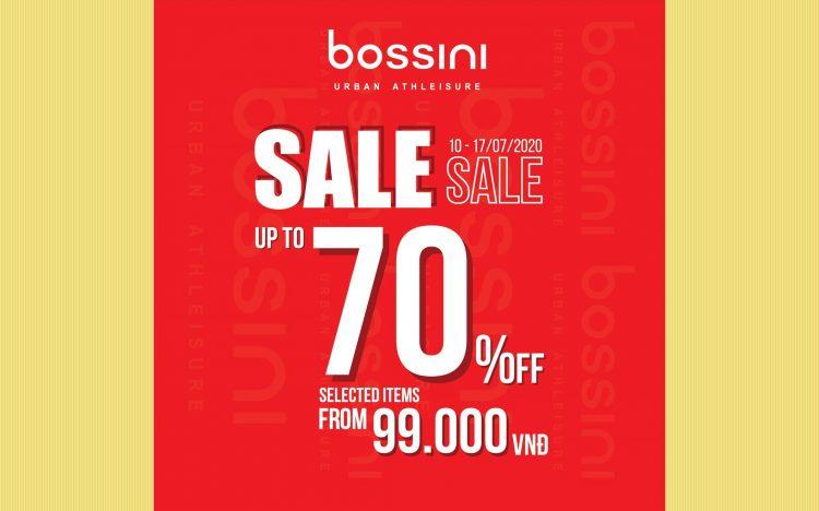 BOSSINI – END OF SEASON SALE UP TO 70%