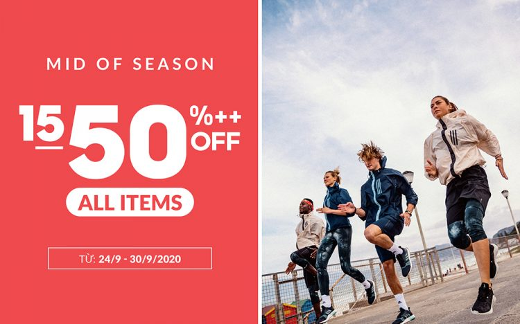 ADIDAS – MID OF SEASON SALE
