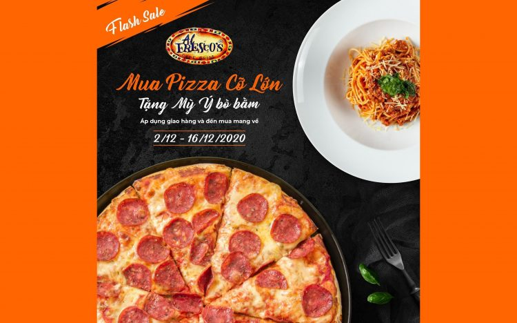 AL FRESCO'S – BUY 1 PIZZA GET 1 PASTA