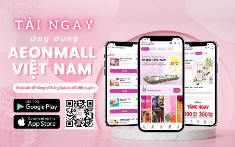 NEW SHOPPING EXPERIENCE WITH APP AEON MALL