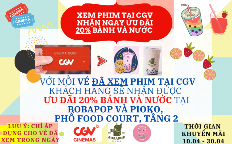 BOBAPOP & PIOKO – WATCH MOVIES AND RECEIVE 20% OFF