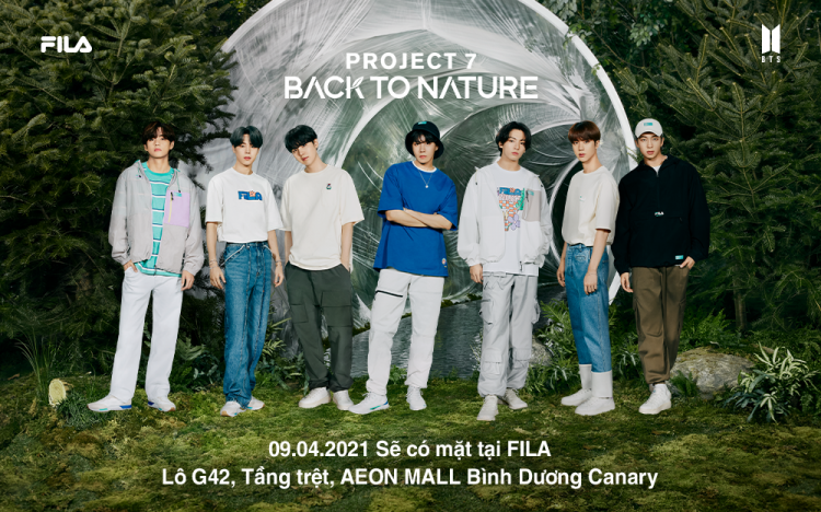 FILA – NEW COLLECTION – PROJECT 7: BACK TO NATURE