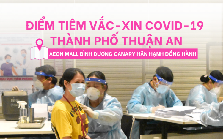 CONDUCT THE COMMUNITY VACCINATION AGAINST COVID-19 THUAN AN CITY